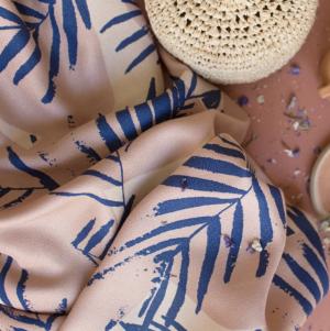 Tissu Canopy Cobalt par Atelier Brunette